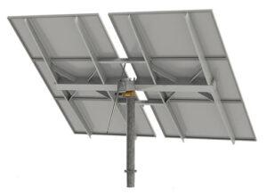 estructuras móviles paneles solares