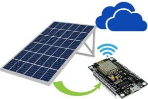 nodeMCU ESP32 solar control