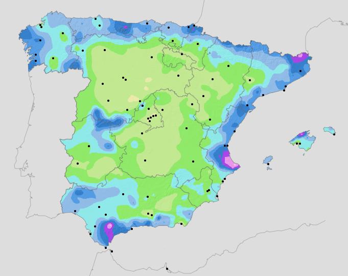 datos climaticos aemet